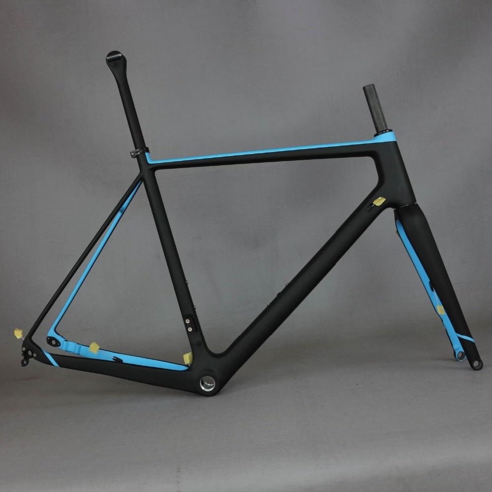 Toray Full Carbon Fiber Gravel Bike Frame GR029 , Bicycle GRAVEL Frame Factory Deirect Sale CUSTOMIZED PAINT Frame MEN Frame