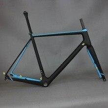 Toray pełne włókno węglowe żwir rama rowerowa GR029, rama żwiru rowerowego fabryka deirect sprzedaż dostosowane rama farby mężczyźni rama