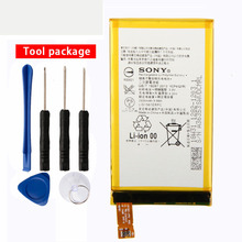 Original Sony LIS1561ERPC Phone Battery For For Sony Xperia Z3 Mini Z3 Compact Z3C D5803 D5833 2600mAh 4 6 white or black for sony xperia z3 mini compact d5803 d5833 lcd display touch digitizer screen assembly sticker