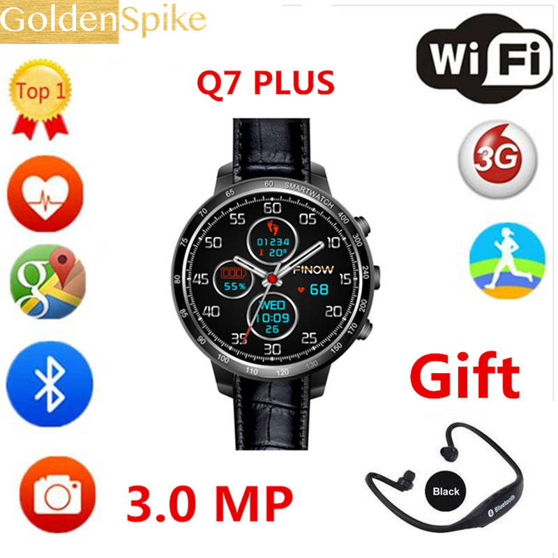 New Arrival PK x5 air PLUS smart watch Q7s with 3.0 MP Camera support 32 GB TF card Android 5.1 3G Wifi bluetooth for Android for smart watch lem5 finow x5 x5 plus x5 air q3 charging dock charger