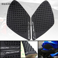 Motorcycle Anti Slip Gas Oil Fuel Tank Traction Pad Protector Knee Side Decal Sticker For Suzuki GSXR1000 GSXR 1000 2007 2008