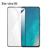 Закаленное стекло с полным покрытием для Vivo S1, Защитная пленка для экрана, стекло для Vivo S1
