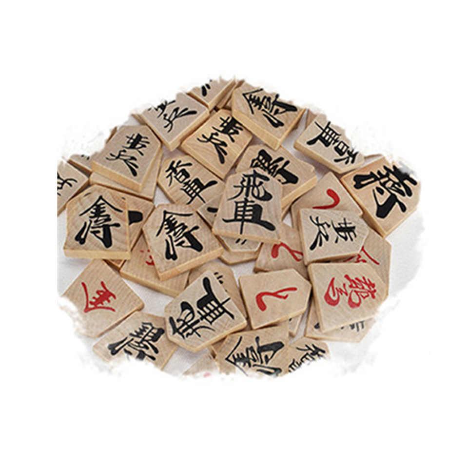 BSTFAMLY деревянный Японии Сеги 27*25*5 см 40 шт./компл. международные шашки складной Sho-gi шахматы стол игрушка в подарок детей J02
