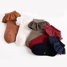 Short Socks Toddler Baby-Girls Infant Winter Cotton Autumn Soft Bows Sokken Skarpetki