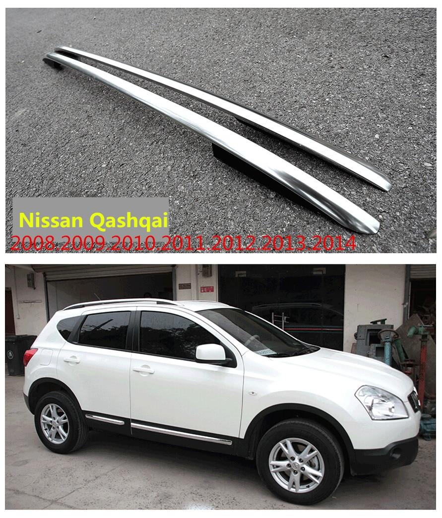 Car Roof Racks Luggage rack For Nissan Qashqai 2008.2009.2010.2011.2012.2013.2014 High Quality Auto Modification Accessories