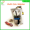Multi selector coin acceptor 5 different coins signal output 1 signal Jamma mean arcade game machine accessories