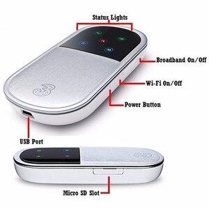 Image 4 - Desbloqueado Huawei E5830 3 Wi fi Roteadores G Router Modem 7.2Mbps Wi fi Hotspot Móvel 3G HSDPA WCDMA GSM Bolso router