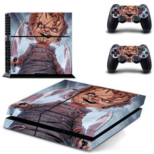 Child's Play Decal PS4 Skin Sticker For Sony Playstation 4 Console +2Pcs Controllers 12 patterns