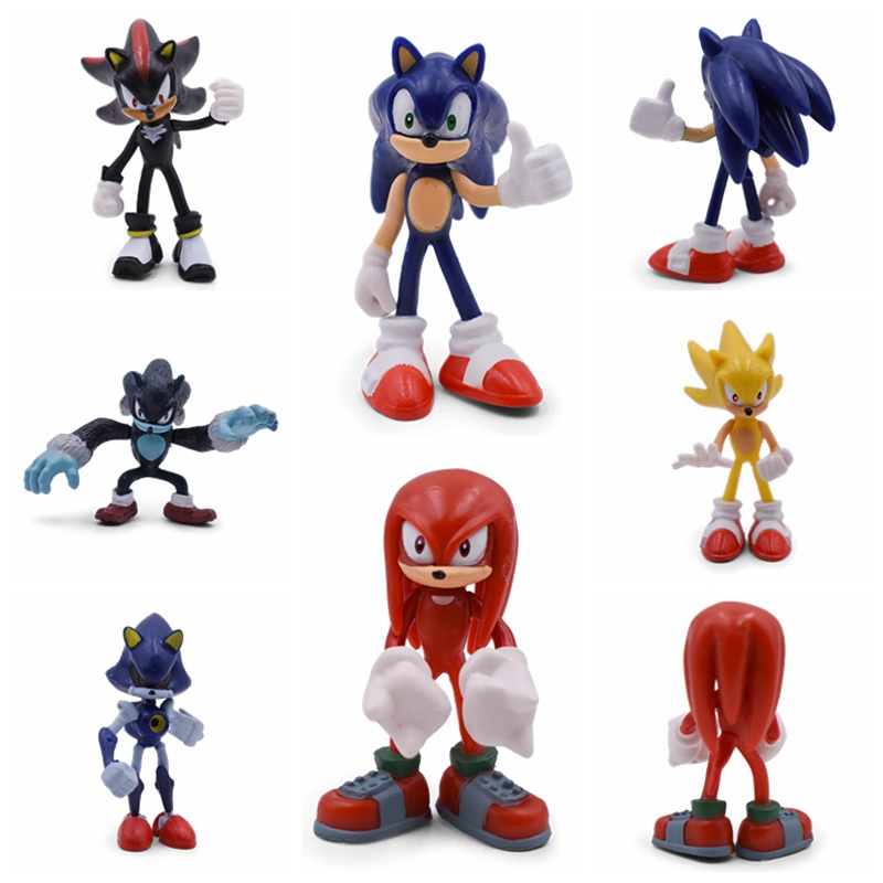 Toys Model-Doll Action-Figure Collectible Shadow Gift Sonic Rare Boom Anime Cute PVC