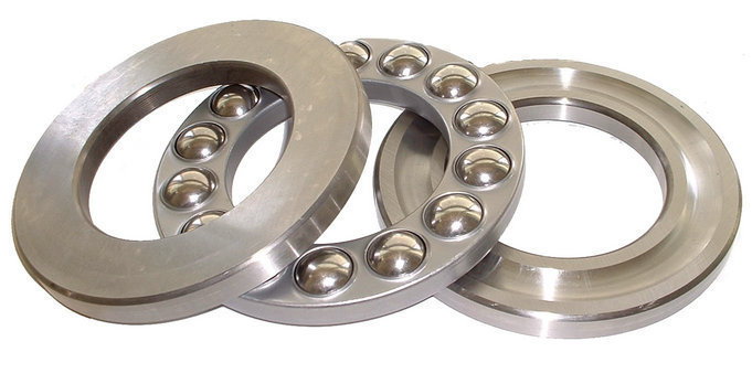 Stainless steel thrust ball bearings stainless steel flat ball bearings SS51111 55 78 16