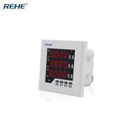 REHE RH-3UIF23 120*120 MM trzy fazy miernik cyfrowy w połączeniu LED