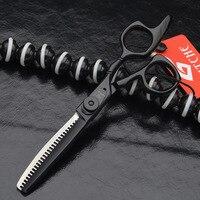 6 Inches Hot Professional Hairdressing Scissors Hair Thinning Scissors Barber Hairdresser Tool Salon Equipment Kit