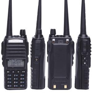 Image 4 - Baofeng UV 82 8 W Walkie Talkie Uv82 Dual Band + NA 771 เสาอากาศ + สายโปรแกรม 10KMยาวUV 82 สำหรับล่าสัตว์เดินป่า