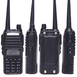 Image 4 - Baofeng UV 82 8 W powerful Walkie Talkie uv82 Dual Band+NA 771 Antenna +program cable 10KM Long Range UV 82 for hunting hiking