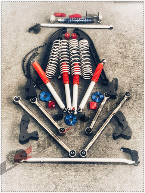 US $1719 0 |4inch Off Road Jimny JB43 Complete Lift Suspension Kit Rear  4link Version-in Lift Kits & Parts from Automobiles & Motorcycles on
