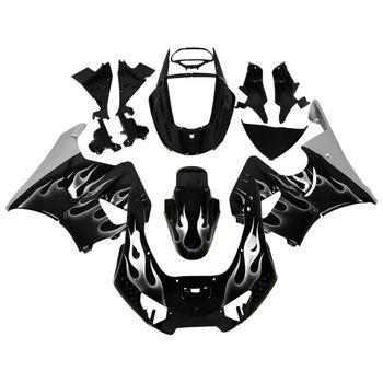 Motorcycle Motorbike Flames ABS Fairing Bodywork For Honda CBR900RR CBR 900 RR 919 98-99 Hand Made