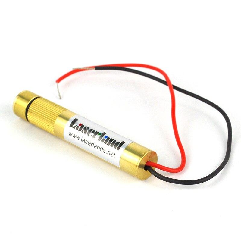 цена на 1270 532nm Green 50mW Cross Hair Cross Line Laser Diode Module Glass Lens
