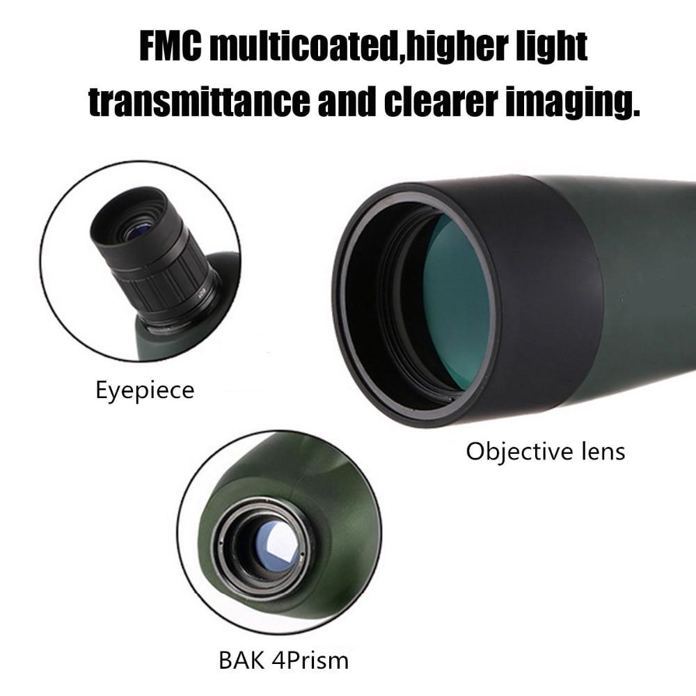 Zoom lens per smartphone 20 60x60 Impermeabile Con Il Treppiedi Del Telefono mobile Adattatore di Visione Notturna di HD Telescopio del telefono lente para celular - 5