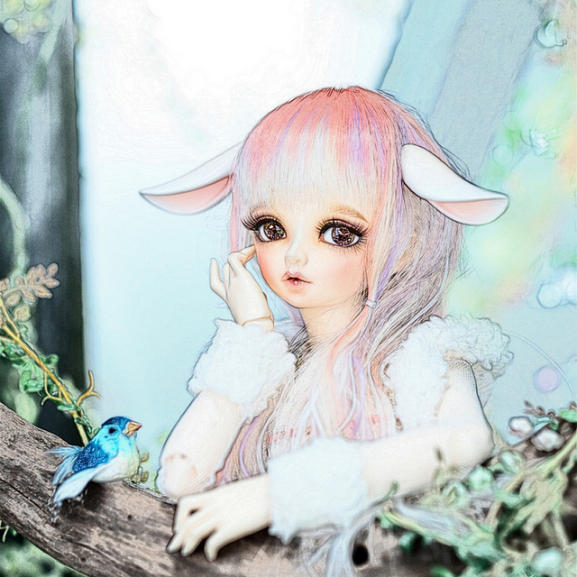 Free Shipping Minifee Rin Fairyland Doll BJD 1/4 Female Fairies Fashion High Quality Toys For Children Best Gifts FL Oueneifs