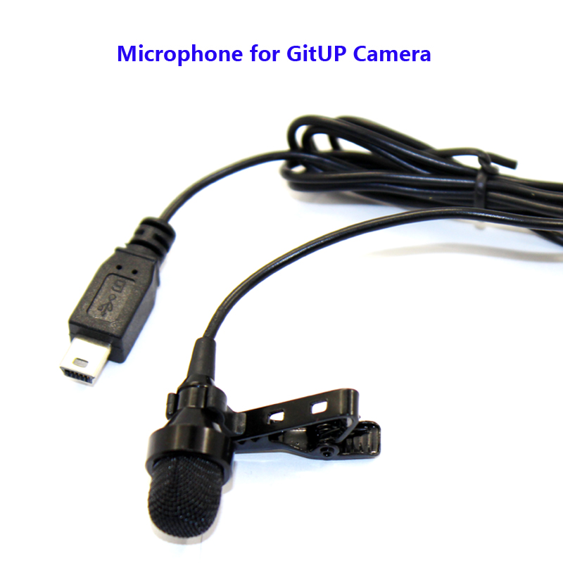 Free shipping!! Original Microphone for GIITUP Git2 Sport Action Camera