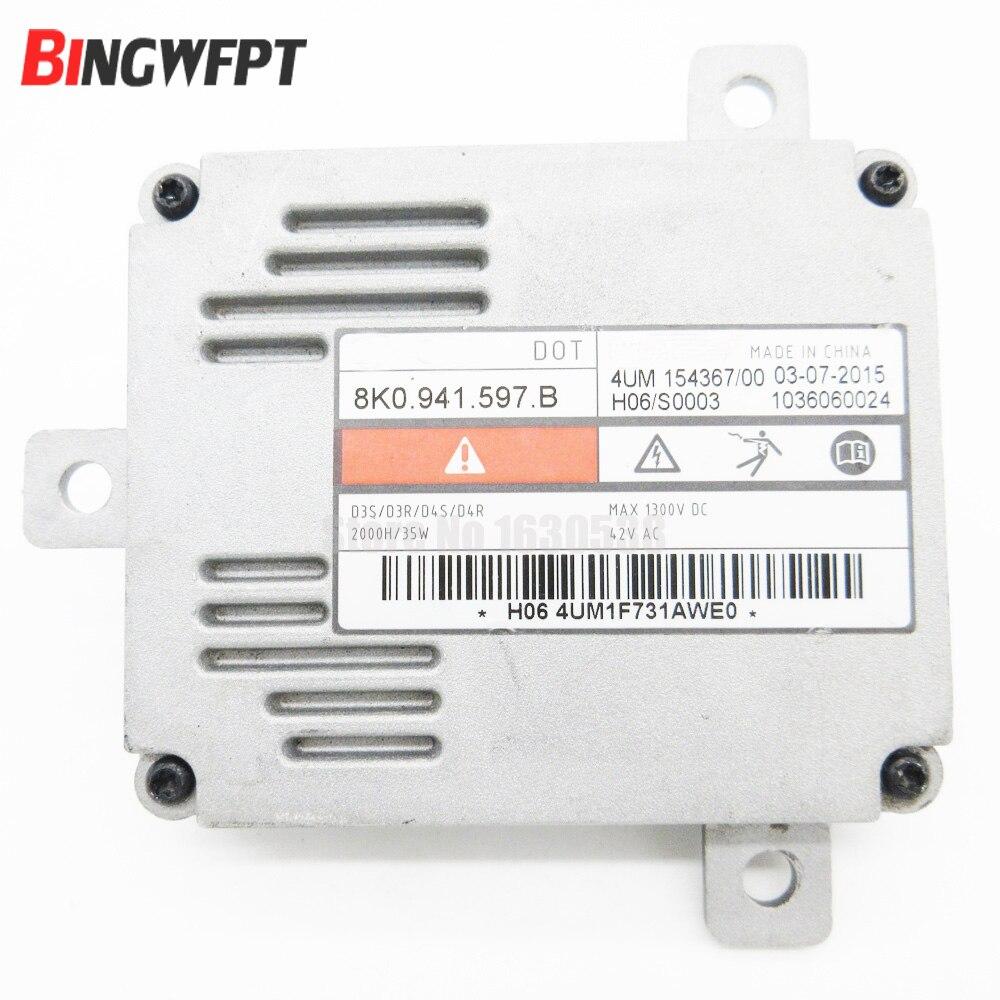 VW Xenon Ballast HID Control Unit Computer Module ECU 8K0941597B-NEW For Audi Auto Parts & Accessories Car & Truck Parts