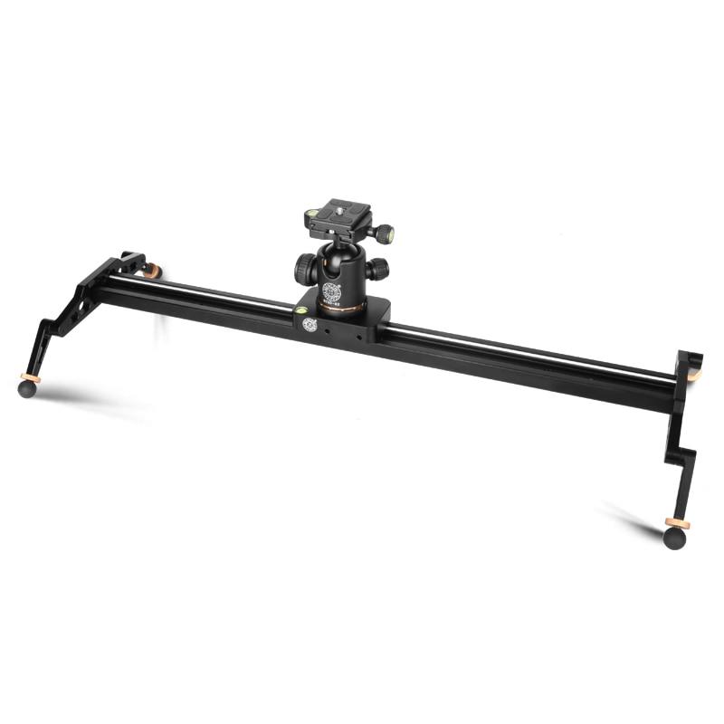 QingZhuang  60cm/80cm/100cm/120cm  Video Slider Rail Dolly Track For Sony Nikon Canon DSLR  camera slider for camera tripod