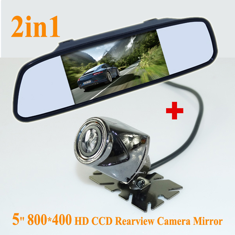 GOOD QUALITY CCD HD rear view camera night vision waterproof With 4.3 inch Car Rearview Mirror <font><b>Monitor</b></font> For All kinds of cars