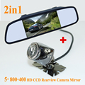 GOOD QUALITY  CCD HD rear view camera night vision waterproof With 4.3 inch Car Rearview Mirror Monitor For  All kinds of cars