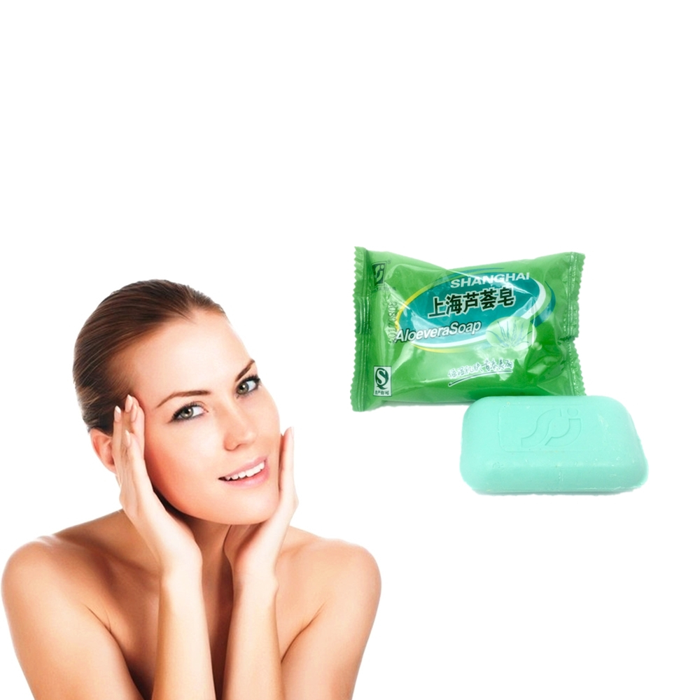 Soap Anti-Off Itching Anti-Hair Loss ALOEVERA Nourishing Deep Clean Oil Control Smooth Repair Hair The Scalp Shampoo Soap
