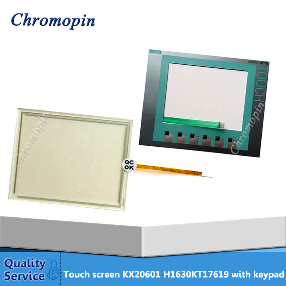 KX20601 H1630 Touch Screen Panel with Membrane Keyboard Keypad for PLC HMI Operator Keypad Repair touch panel for proface hmi gp2501 sc11 repair