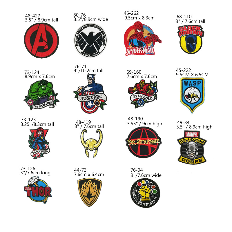 """WASP W.A.S.P Shield Iron On Sew On Embroidered Patch 4/""""x3/"""""""