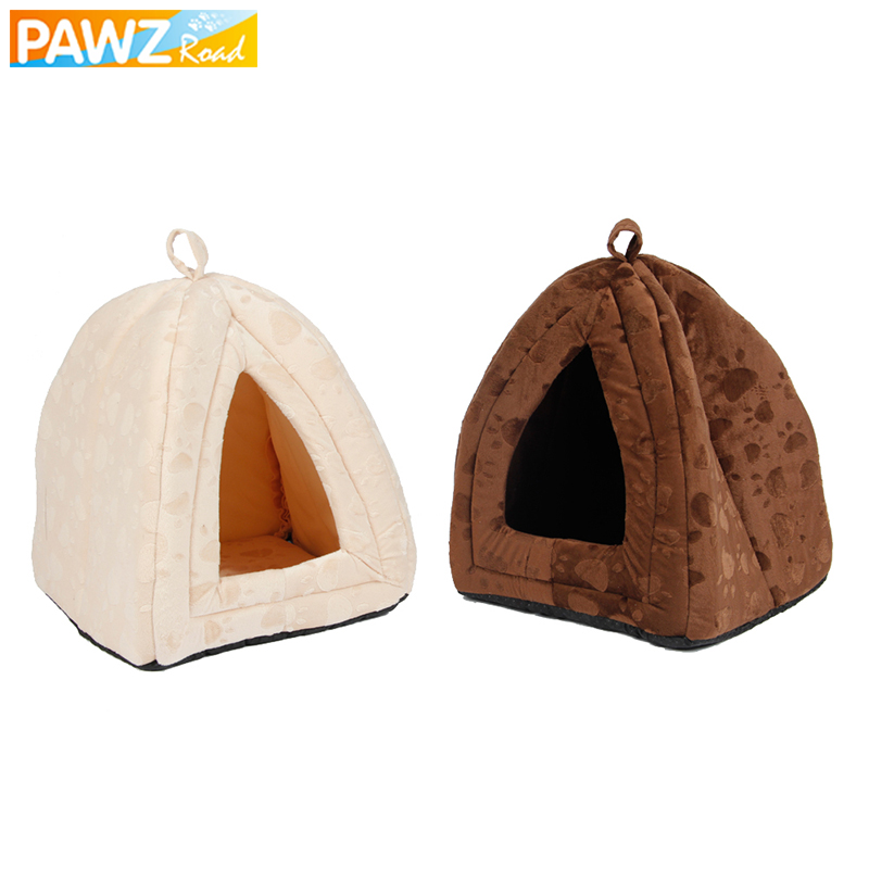 Luxury Soft Pet Dog House For Pets Cats Home Furniture Foldable Puppy Beds Dogs Mats Kennel For Small Medium Dogs Cats Products