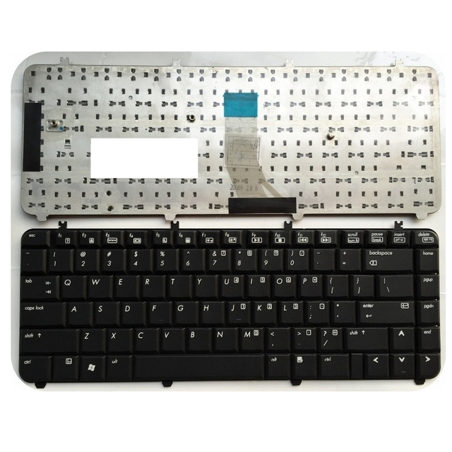 English new keyboard For HP For Pavilion DV5 DV5 1000 US Laptop ...