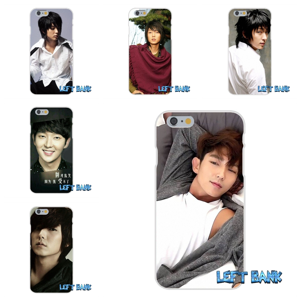 LEE JOON GI Soft Silicone TPU Transparent Cover Case For iPhone 4 4S 5 5S 5C SE 6 6S 7 Plus