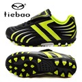 TIEBAO Professional Boys Football Shoes Kids Soccer Cleats AG Soles Hard Court Sneakers Botas De Futbol Con Tobillera