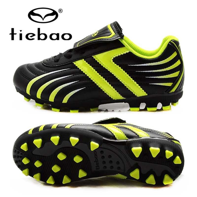 Tiebao profesional de fútbol de los muchachos zapatos de los niños zapatos  de fútbol ag botas de futbol con tobillera corte zapatillas de suela dura  en de 4b6ee4fae86a8