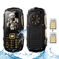 Suppu y809b tarjeta bluetooth 2.0 teléfono celular de larga espera dual sim ip67 a prueba de agua banco de potencia linterna fm teléfono móvil resistente p225
