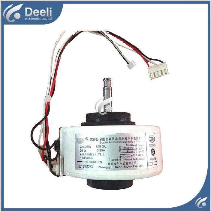 99% new good working for Air conditioner inner machine motor KSFD-20B 0010404233 220V Motor fan стоимость