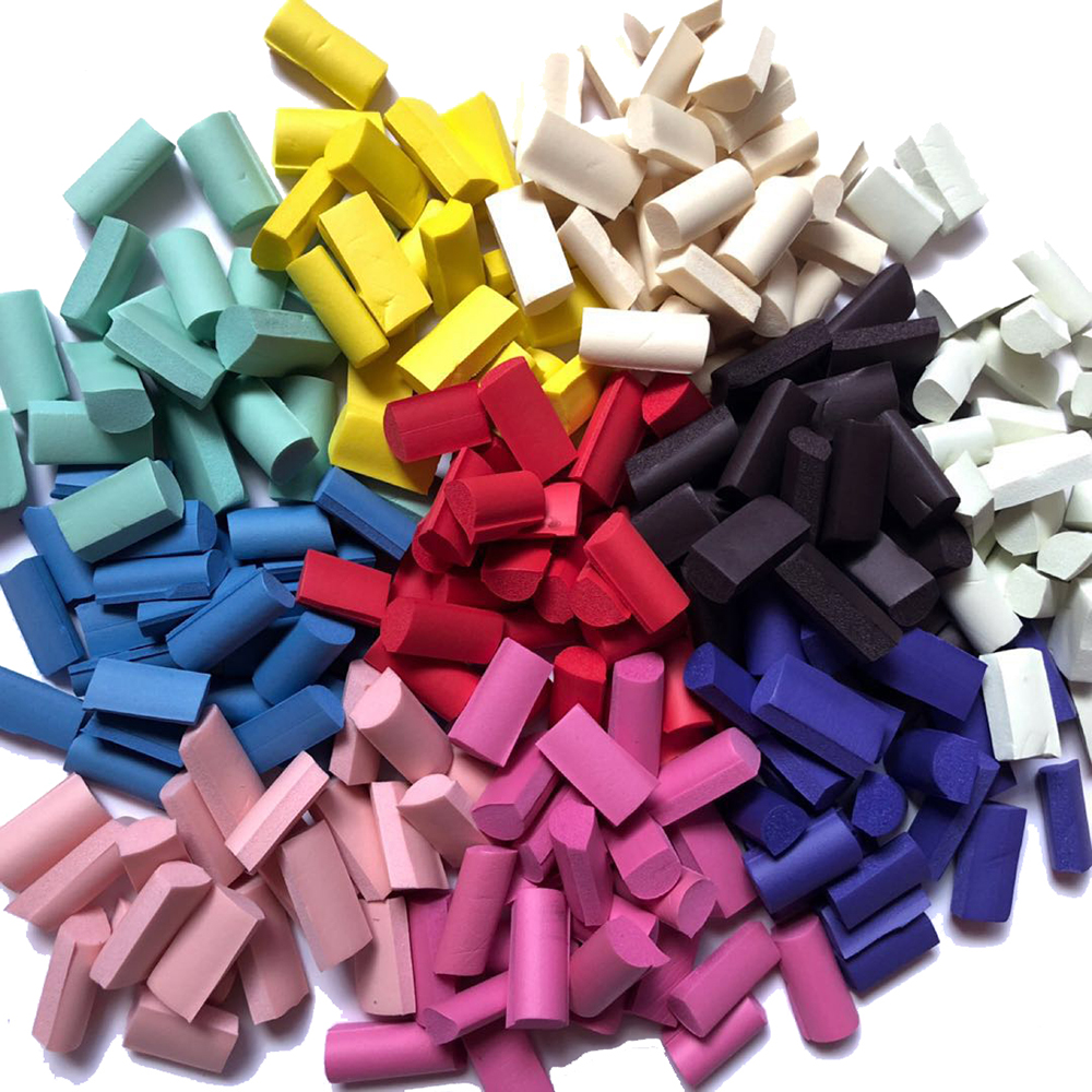 70pcs Sponge Slime Bead Chunks Lizun Addition Slime Supplies Accessories Filler Charms For Slime Foam Clay Mud