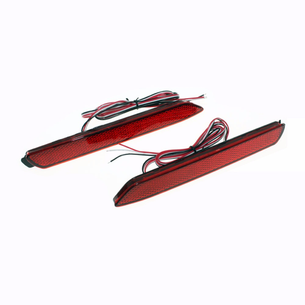 Car LED Tail Light Parking Brake Rear Bumper Reflector <font><b>Lamp</b></font> for Toyota Camry/Innova/<font><b>Lexus</b></font> ISF/GX470/<font><b>RX300</b></font> Red Fog Stop Lights image