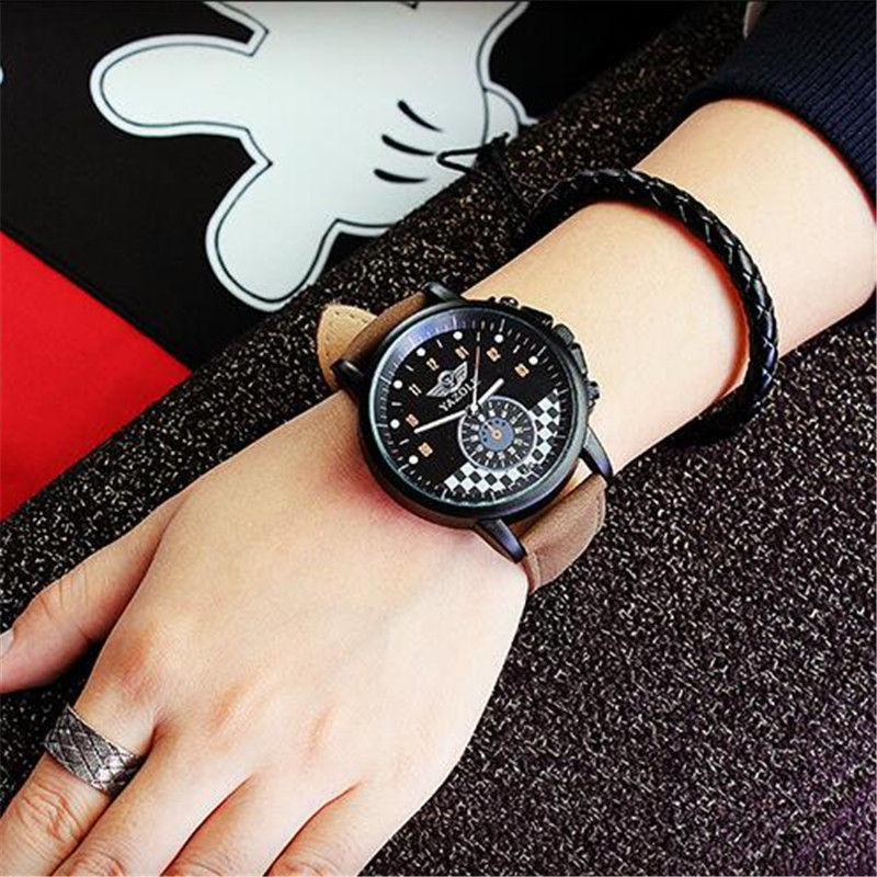 personalized mens watch box reviews online shopping personalized exclusive fashion waterproof mini personality dial business men watch luminous pointer big black box couple quartz watch men 324