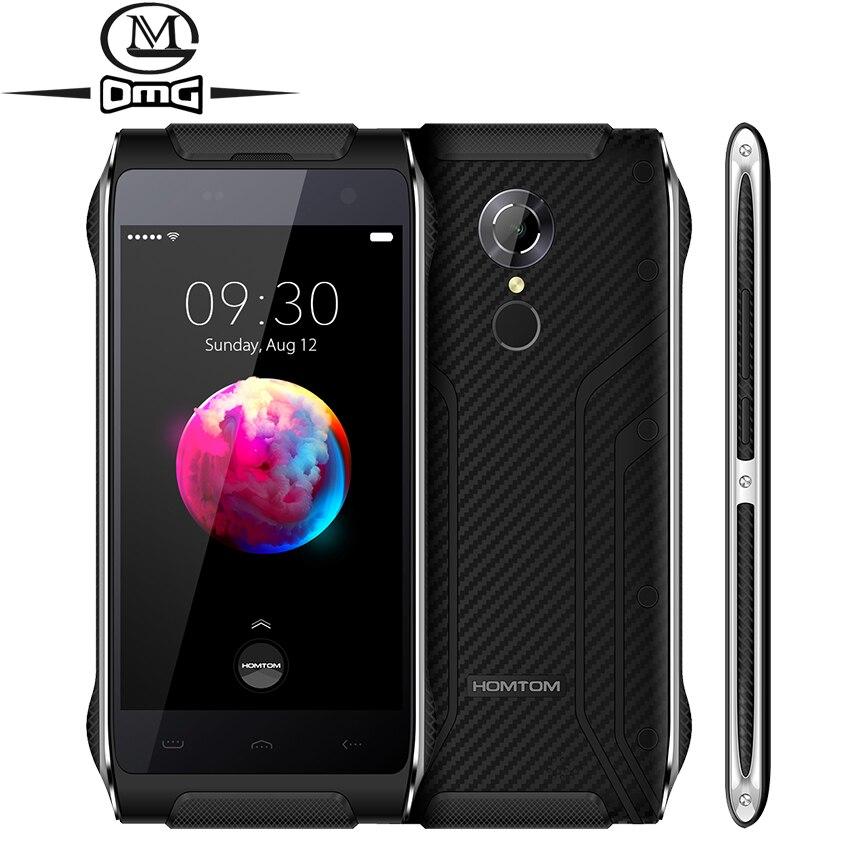 Original HOMTOM HT20 pro IP68 Waterproof Mobile Phone <font><b>3GB</b></font> <font><b>RAM</b></font> 4.7&#8243; MTK6753 Octa Core Android 6.0 4G LTE Fingerprint <font><b>Smartphone</b></font>
