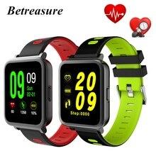 Betreasure BW17 NEW Bluetooth Smart Watch Heart Rate Monitor Health Smart Watches Fitness Tracker Waterproof Sport