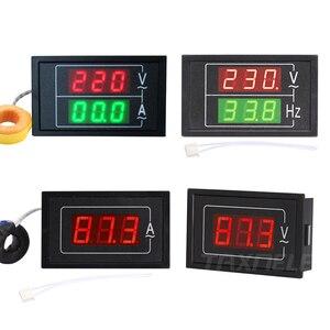 Image 1 - Цифровой измеритель напряжения и тока, тестер с двойным дисплеем DL85 AC80 500V 100A 60A, светодиодный амперметр, вольтметр, амперметр переменного тока