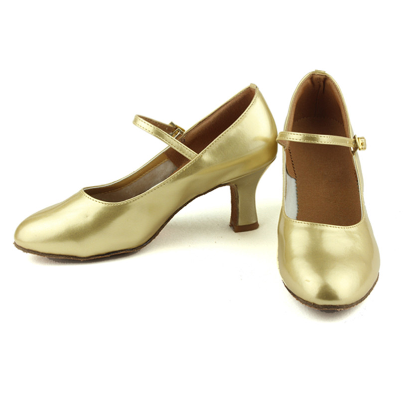 Peta 7cm Crno zlato Srebro Salsa Plesna obuća Zapatos Salsa Mujer - Tenisice - Foto 5