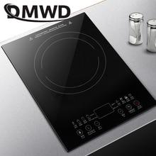 DMWD настольная булитная электрическая плита с керамической поверхностью, горелка, Электромагнитная Индукционная плита, встраиваемая конфорка, нагревательная плита, плита, духовка, ЕС