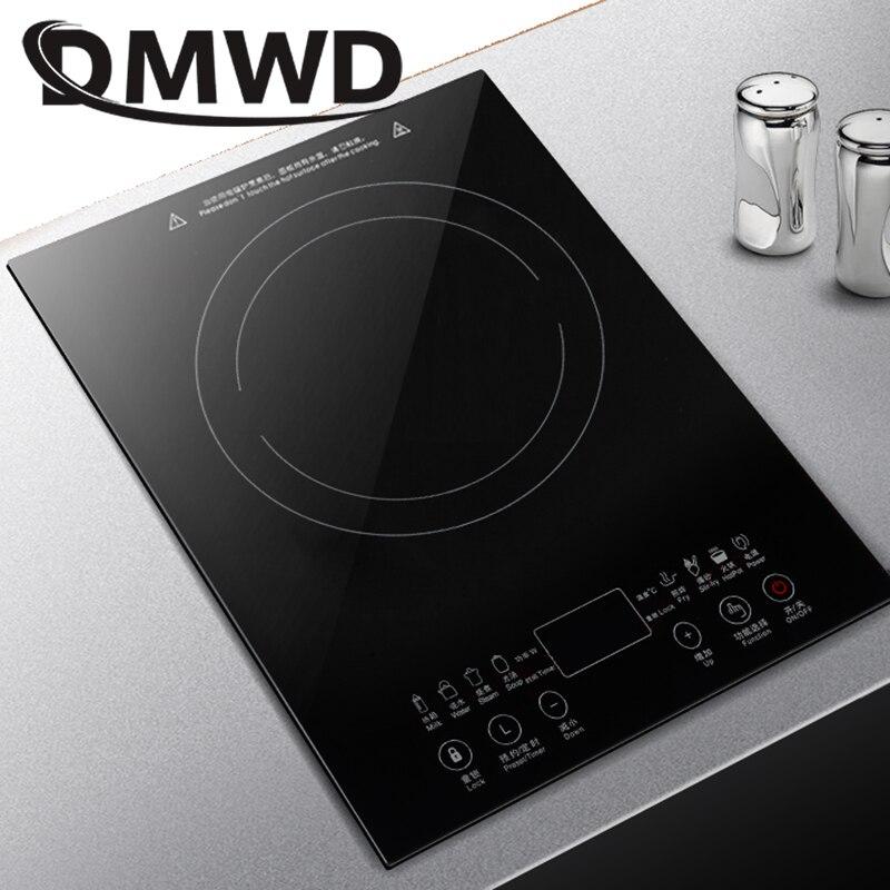 DMWD настольная Bulit-in электрическая керамическая плита горелка Электромагнитная Индукционная плита встроенный горячий горшок нагревательна...