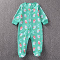 Baby Boy Fashion Cute Climbing Clothing With Foot Newborn Girls Warm Pajamas Rompers Toddler Zipper Jumpsuit Clothes Kit Cousume