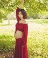 2016 материнства фотографии реквизит макси платье slash шеи фотографии материнства платье одежда шифон materntiy платья longue жем