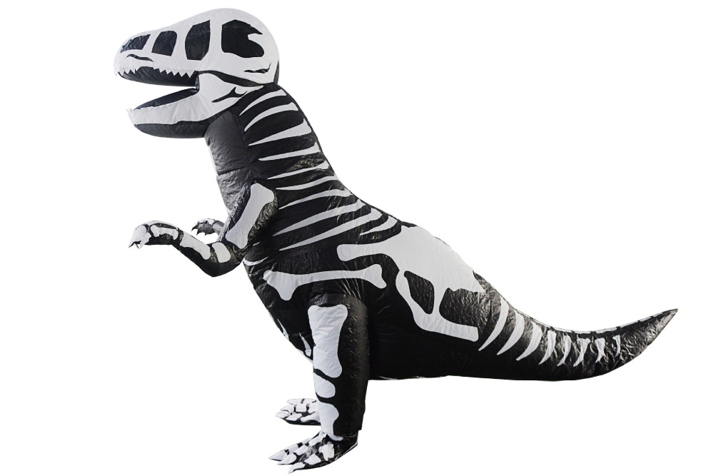 Adult Cosplay Halloween Party Jumpsuit Costume Inflatable Dinosaur Unicorn Tyrannosaurus Rex Costume Clothing